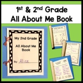 1st & 2nd Grade All About Me Book (Back to school)