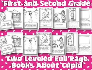 1st & 2nd Grade: Cupid, Venus & Aphrodite Reading & More for Valentine's Day