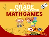 1st & 2nd Grade File Folder Math Games [Book 1]