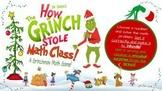 1st/2nd Grade - Grinchmas/Christmas Math Virtual Game