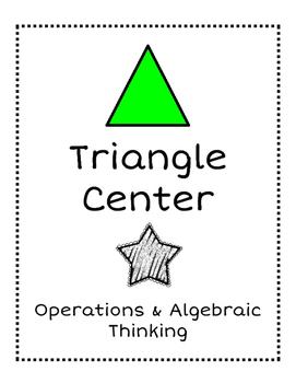 1st & 2nd Grade Math Center Organization
