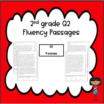 Oral Reading Fluency Homework Quarter 2 NO PREP (complete second nine weeks)