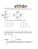 1st/2nd grade Place Value and Ten Frame Practice