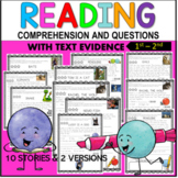 1st –3rd Grade Reading Comprehension Passages and Questions With Real Pictures