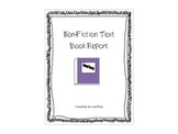 1st-3rd Non-Fiction Book Report