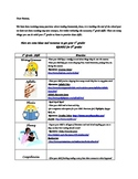1st-3rd Summer Reading Practice Sheet