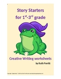 1st-3rd grade story starter worksheets {Creative writing for the classroom} New!