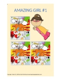 1st-4th grade comics story {Amazing Girl #1, Chapter 1, Th