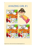 1st-4th grade comics story {Amazing Girl #1, Chapters 1 and 2}