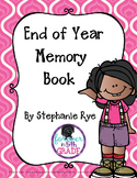 1st-6th Grade End of Year Memory Book