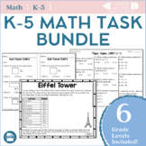 Kindergarten-5th Grade Math Mega Bundles