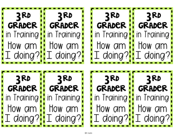 Kinder - 6th Grader in Training Badges Freebie!