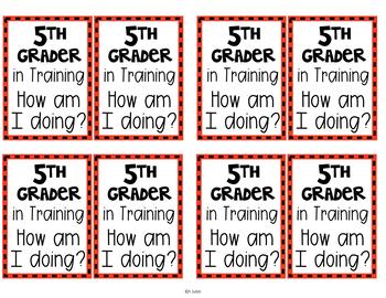 Kinder - 6th Grader in Training Badges Freebie!