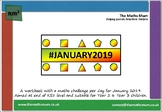 1st-7th January 2019 Maths Workbook