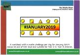 1st-7th January 2019 Maths Workbook
