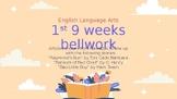 1st 9 Weeks English Bellwork