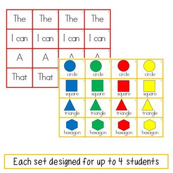 Academic Math Vocabulary Sentence Building
