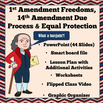 1st Amendment Freedoms & 14th Due Process and Equal Protection - Civics SOL