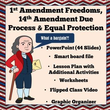 1st amendment freedoms 14th due process and equal protection civics sol. Black Bedroom Furniture Sets. Home Design Ideas