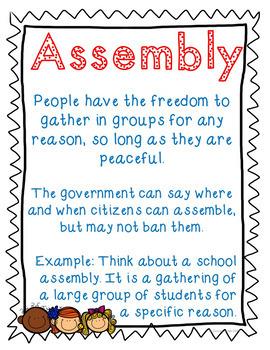 1st Amendment Freedoms