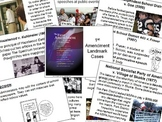 1st Amendment Landmark Cases PowerPoint