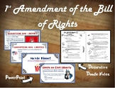 1st Amendment to the Bill of Rights
