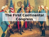 1st Continental Congress Powerpoint
