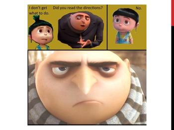 1st Day Meme BINGO slideshow