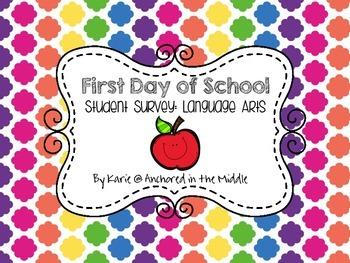 1st Day Survey