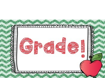 1st Day of K-6th Grade Photo Frame Signs