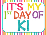 1st Day of K sign- FREEBIE!