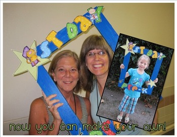 1st (Last) Day of Pre-K (K-5th) Letters -First/Last Day Frame BTS