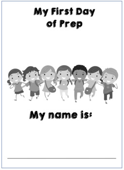 1st Day of Prep Booklet