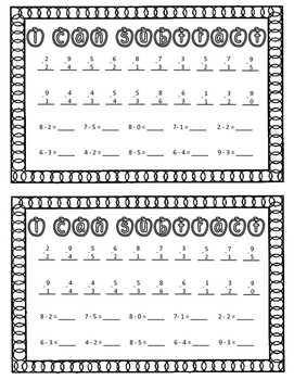 1st Day of School Activity Booklet