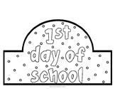 1st Day of School Hat
