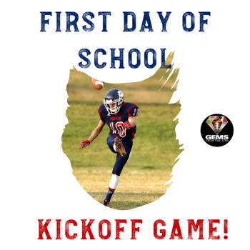 1st Day of School Physical Education Kickoff Game!
