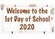 1st Day of School Photo