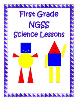1st First Grade Bundle 15 Science Lessons NGSS Aligned Next Generation Standards