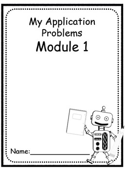 1st First Grade Math Common Core Application Problems Modules