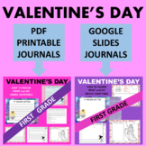 1st First Grade Valentine's Day Writing - Google & Paper Combo Bundle
