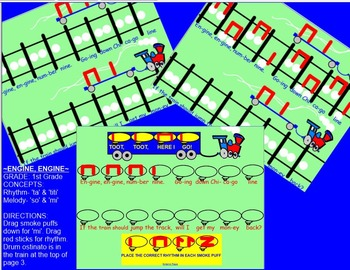 Engine, Engine~so-mi~ta, ti-ti~game~Smartboard