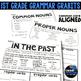 1st GRADE GRAMMAR GRABITS GROWING BUNDLE