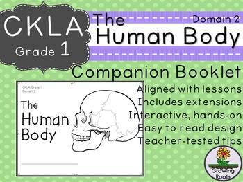 1st GRADE LEVEL LICENSE: CKLA 1st The Human Body Companion Domain 2