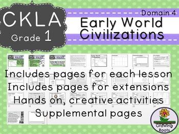 1st GRADE LEVEL LICENSE:CKLA Early World Civilizations D4