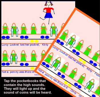 Lucy Locket ~ so-mi-la~Game song with Xylophone Ostinato~Smartboard