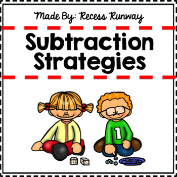 1st GRADE SUBTRACTION STRATEGY POSTERS