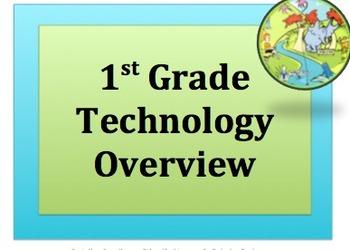 1 st GRADE TECHNOLOGY OVERVIEW v2