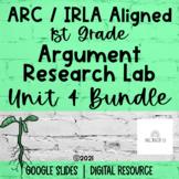 1st Grade   ARC Core   Unit 4   Argument Research Lab   PLANTS   BUNDLE
