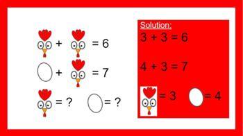1st Grade Adding & Subtraction Word Problems & Craft