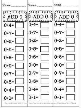1st Grade Addition Fact Fluency Assessments 1.OA.C6